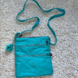 kipling crossbody bag teal